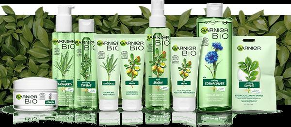 Seria kosmetyków Garnier Bio